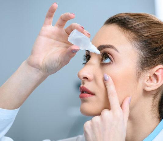 Jak prawidłowo używać kropli do oczu